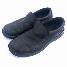 cab2346c4cd Dr. Martens Men s Norfolk Shoes Sz 12 M Work Black Leather Loafers Slip On