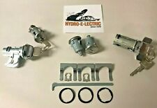 1972-1973 Impala, Caprice, Bel Air, Biscayne Complete OE style Lock Set- GM keys