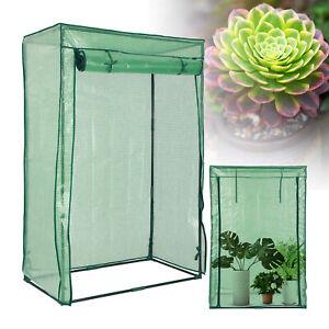 Walk In Greenhouse PVC Plastic Garden Outdoor Grow House Green House 1.5m high