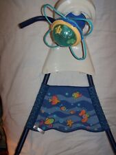 Fisher Price aquarium swing motor-head and main support poles/fabric replacement