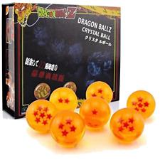 Dragon Ball Z Crystal Ball 4.2 cm Anime Dragon Ball Figure 7pc