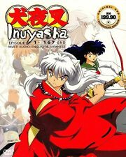DVD Anime Inuyasha Complete Box Set Vol. 1-167 End Series English Version