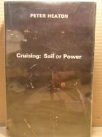 Cruising: Sail or Power by Heaton, Peter Hardback Book The Fast Free Shipping