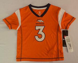 Drew Lock Girls Denver Broncos Jersey Size XS Extra Small 4/5 NWT