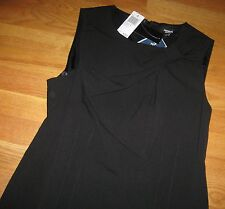 Premise Womens Dress Cocktail Sheath Sleeveless Black size 6 NEW