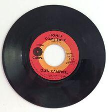 Glen Campbell Vinyl 45 Honey Come Back / Where Do You Go 2718 Capital Records