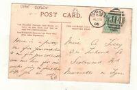 EDW.VII. 1905.  PUDSEY  DUPLEX POSTMARK.PLEASE SEE PICTURE
