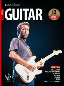 Rockschool Guitar 2018-2024 grade 5 Book/Audio