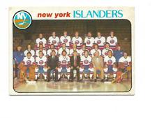 1978-79 O-Pee-Chee #201 New York Islanders Team Checklist