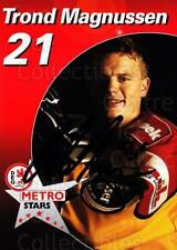 2003-04 German DEG Metro Stars Postcards #13 Trond Magnussen