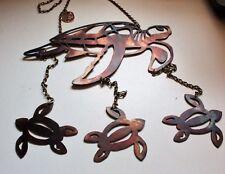 Sea Turtle  Metal Wall Art Wind Chime/Mobile