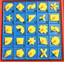 PERFECTION GAME Replacement Pieces Parts Shapes Milton Bradley