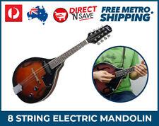 A-Style Electric Mandolin Black Cherry 8 String Volume Tone Control MT-30