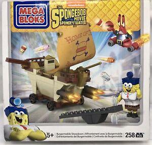 Mega Bloks Spongebob Movie Sponge Out of Water Burgermobile Showdown Nickelodeon