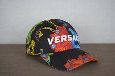 Versace Jewelry Print Silk Baseball Hat