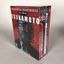 Solid Metal Nightmares: The Films of Shinya Tsukamoto (Blu-ray, Arrow Limited)