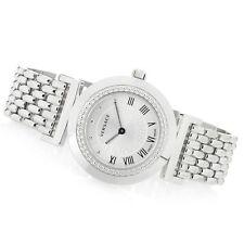 Versace Women's P5Q99D001 H090 Vanity Stainless Steel Silver Dial Bracelet Watch