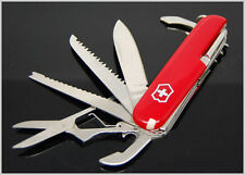 Red V1 Swiss Army Knife Stainless steel knife Pocket Camping Survival knife+gift