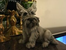 """More details for 👀 italian cacciapuoti style scotty dog west highland terrier china figurine 7"""""""
