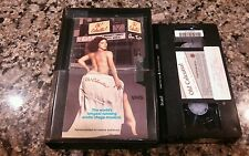 OH! CALCUTTA! 1977 VINTAGE RARE CLAMSHELL VHS TAPE! EROTIC STAGE MUSICAL!