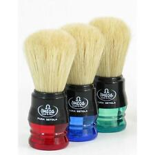 1 x Blue OMEGA 100% Pure Bristles Shave Brush -  Made In Italy