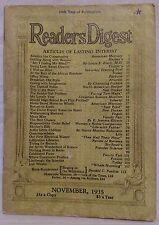 November 1935 Reader's Digest!!!