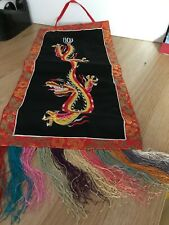 Chinese dragon new year decoration banner
