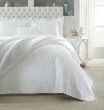 Sferra Adelli King Blanket Cover - White