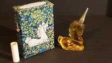 Full Bottle Vintage Nos Avon Unicorn Decanter Charisma Cologne 2 Fl Oz