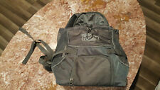 Outward Hound Puppy Dog Backpack Carrier Gray Small Pooch Bag NWOT.