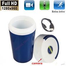 1280x960 HD Camcorder Water Cup Camera Motion Detection Hidden DVR Surveillance