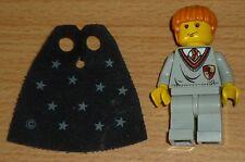 Lego Harry Potter Ron Weasley con sternenumhang, versión antigua (emblema rojo)