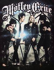 Motley Crue T Shirt Small Mens Hanes North American Tour 2013 Black
