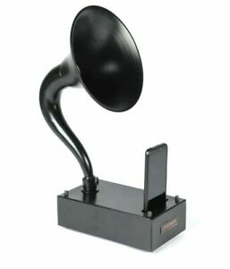 Antique Gramophone for I Phone Mobile Wireless Outdoor Musical Player Speaker.