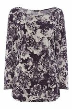 Polyester Fitted Singlepack Floral Tops & Shirts for Women