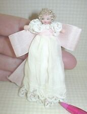 """Miniature Angel Children Doll """"Baby Clarice"""" Limited to 11: DOLLHOUSE 1/12 Scale"""