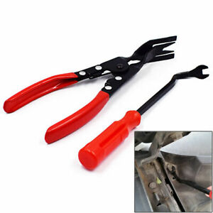 Door Upholstery Trim Clip Removal Pliers Tool Combo Dash Panel Moulding Useful