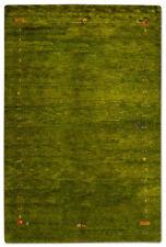 Alfombras de color principal verde para pasillos de gabbeh
