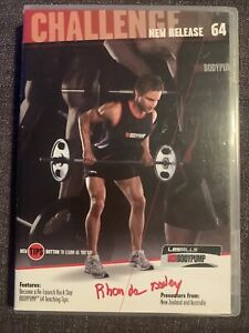Les Mills Body Pump 64 DVD ONLY Instructor Notes Set workout gym weights NO CD
