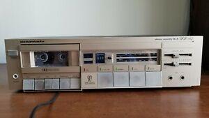 Marantz SD142 Stereo Cassette Tape Deck Works, Good Condition