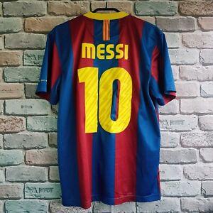 Barcelona 2010 2011  home shirt camiseta maglia size M Lionel Messi