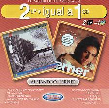 ALEJANDRO LERNER    2 Lp's igual a 1 Cd    MEXICAN CD  BMG 2000 !
