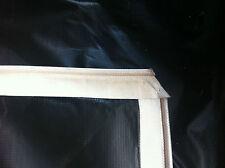 TARP THICK PVC ROPE EDGE, 6M x  3M CAMPING ,CARAVAN, ROOF, BILLBOARD