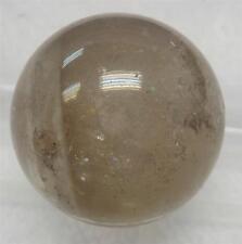 Gray Quartz Crystal Sphere - 31 mm ( 43.2 gram) - Untreated Natural Stone