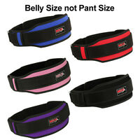 Weight Lifting Belt Training Gym Fitness Bodybuilding Back Sport Workout MRX New