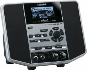 BOSS JS-10 EBAND AUDIO PLAYER WITH GUITAR EFFECTS & 32GB SD CARD & POWER SUPPLY