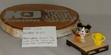 Littlest Pet Shop Brown, Tan and White Collie With Trophy Accessory...