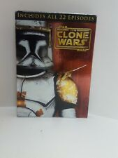 Star Wars: The Clone Wars - The Complete Season One (DVD, 2011, 4-Discs)LikeNEW