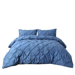 Bed Linings Manual Twist Point Plain Quilt Cover Pillowcase Without Bed Sheet