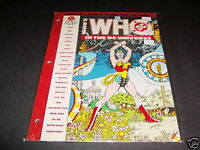 Who/'s Who in the DC Universe 48 Page Loose Leaf #5 Dec 1990 VFNM Sandman Penguin